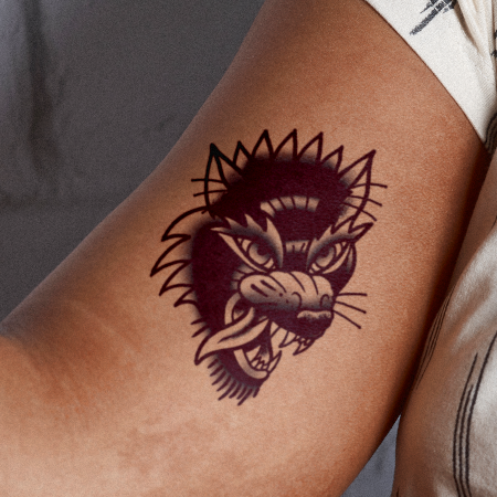 Wolvie by inkbox is a Animals temporary tattoo from inkbox - main