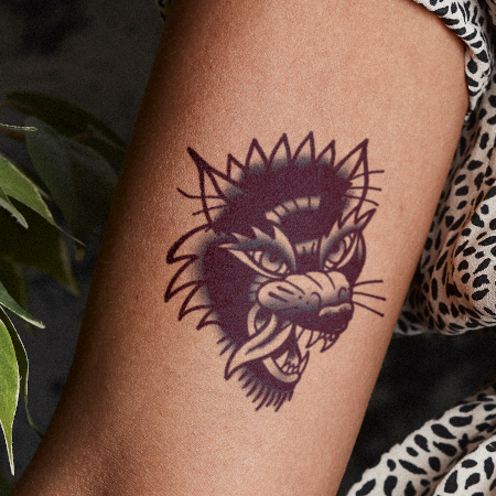 Wolvie by inkbox is a Animals temporary tattoo from inkbox - compliment
