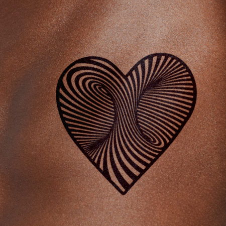 Through the Heart by Felipe Sena is a Hearts temporary tattoo from inkbox - compliment