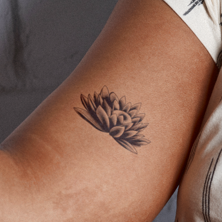 Wepila by inkbox is a Flowers temporary tattoo from inkbox - main
