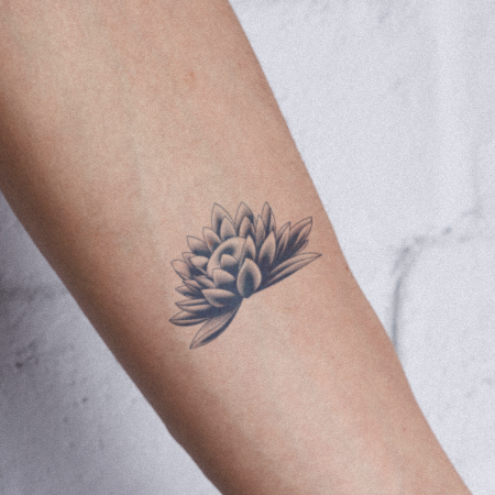 Wepila by inkbox is a Flowers temporary tattoo from inkbox - compliment