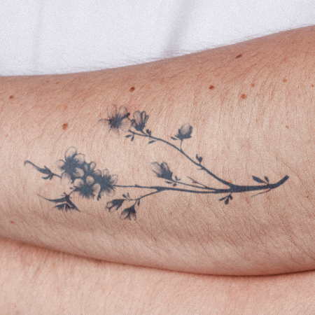 Boraliea by inkbox is a Flowers temporary tattoo from inkbox - compliment