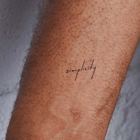 Sumina by novaraye is a Quotes temporary tattoo from inkbox - main