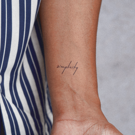 Sumina by novaraye is a Quotes temporary tattoo from inkbox - compliment
