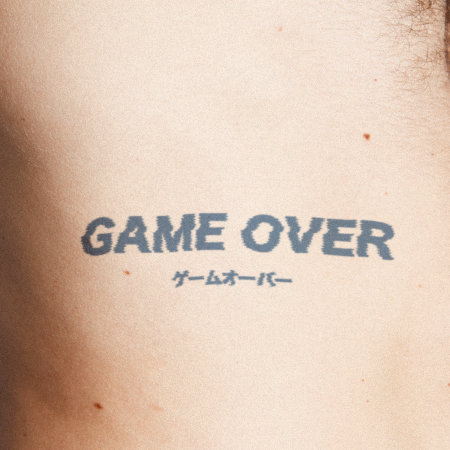 Game Over by Karen Santora is a Gaming & Fandom temporary tattoo from inkbox - compliment