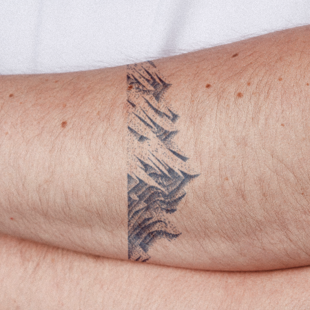Mountain Range by Carsten Daub is a  temporary tattoo from inkbox - compliment