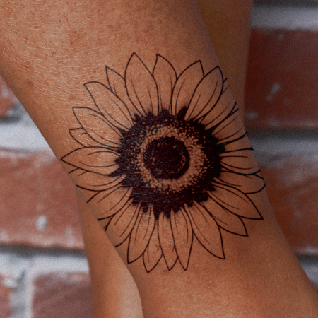 Sun Seeker by inkbox is a Flowers temporary tattoo from inkbox - main