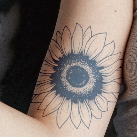 Sun Seeker by inkbox is a Flowers temporary tattoo from inkbox - compliment
