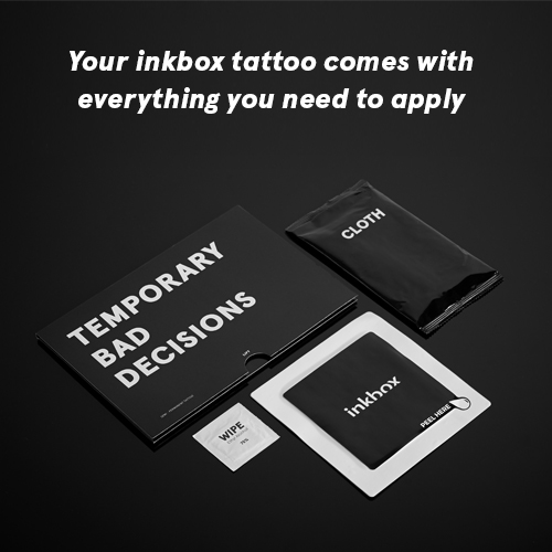 inkbox Tattoo 4x4 Kit Image