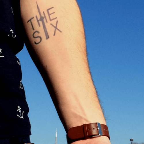 6 by inkbox is a Travel tattoo from inkbox - 4
