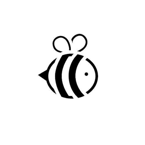 Abeille by Kathryn Chan is a Animals temporary tattoo from inkbox - 1