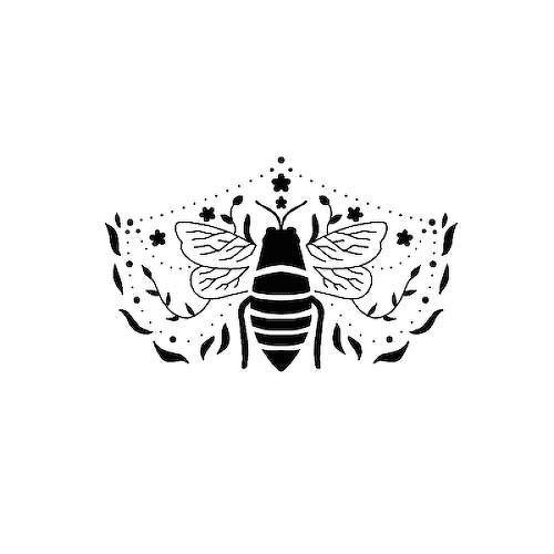 Abeja by inkbox is a Animals temporary tattoo from inkbox - 1