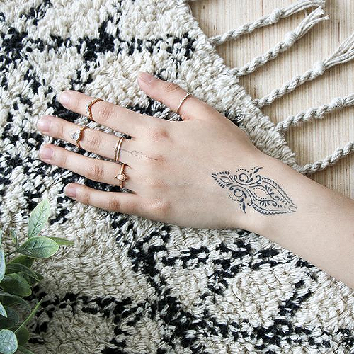 ead91c917b655 Adira by Olivia-Fayne is a Geometric temporary tattoo from inkbox