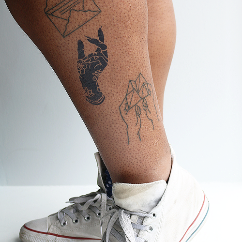 Aerial by Kristine Vodon is a Flowers temporary tattoo from inkbox - 1