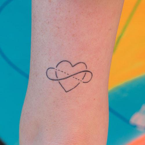 Alli by Felipe Sena is a Geometric temporary tattoo from inkbox - 1