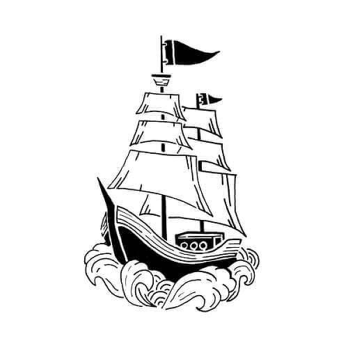 Baco by Sarah Skrlj is a Nautical temporary tattoo from inkbox - 1