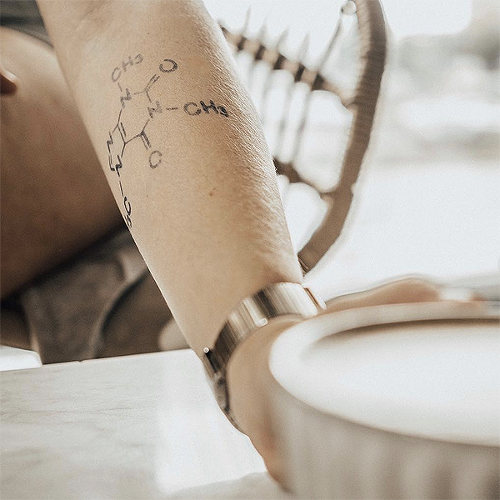 Barista by inkbox is a Science temporary tattoo from inkbox - 2
