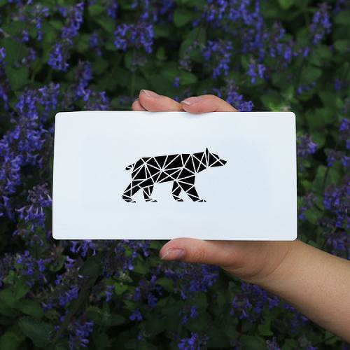 Beruang by Judith Vestjens is a Animals temporary tattoo from inkbox - 0