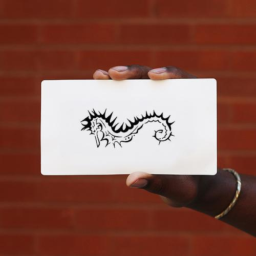 Beyosea by Ciara Uddyback is a Animals temporary tattoo from inkbox - 0