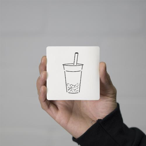 Boba by Addison Llanos is a Food & Drink temporary tattoo from inkbox - 0