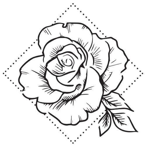semi permanent flower tattoos inkbox