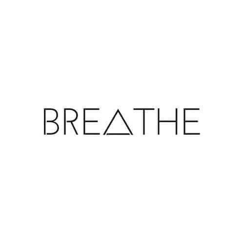 BREATHE by Nikki Di Biasio is a Quotes temporary tattoo from inkbox - 1