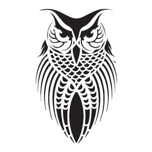 Bubo by inkbox temporary tattoos is a Animals temporary tattoo from inkbox - 1