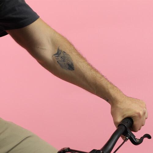 Bubo by inkbox is a Animals temporary tattoo from inkbox - 0