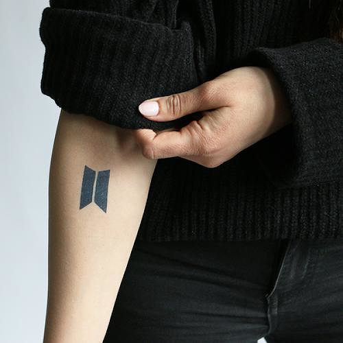 Bulletproof by Alyssa Follett is a Music temporary tattoo from inkbox - 0