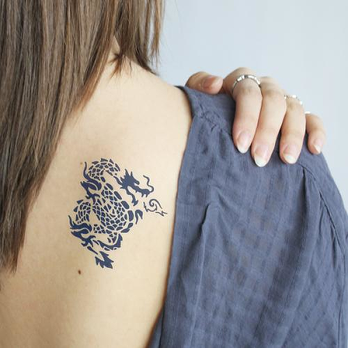 Chuntian by Felipe Sena is a Animals temporary tattoo from inkbox - 0