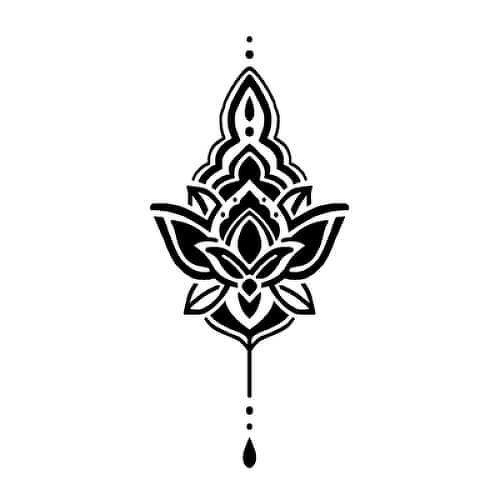 Comely by Sarah Skrlj is a Spiritual temporary tattoo from inkbox - 1