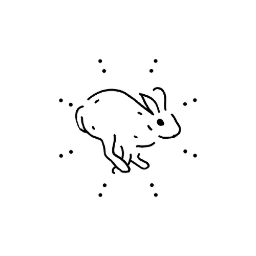 Cottontail by JBR is a Animals temporary tattoo from inkbox - 1