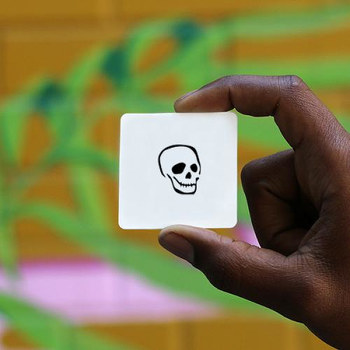 Cranium by Tyler Rehberg is a Minimal temporary tattoo from inkbox - 1