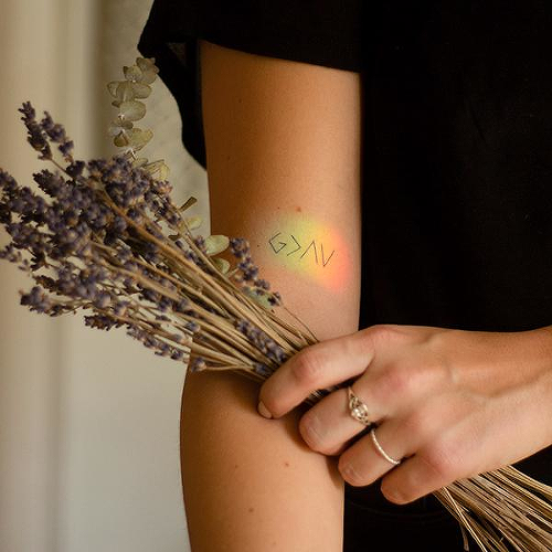 Dios by inkbox is a Spiritual temporary tattoo from inkbox - 0