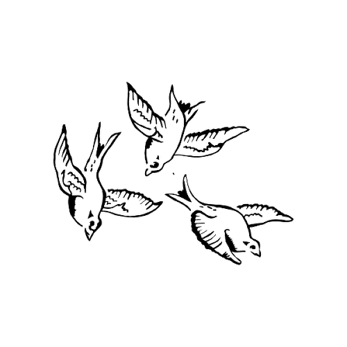 Dovely by Eliza Keale Chiang is a Animals temporary tattoo from inkbox - 1