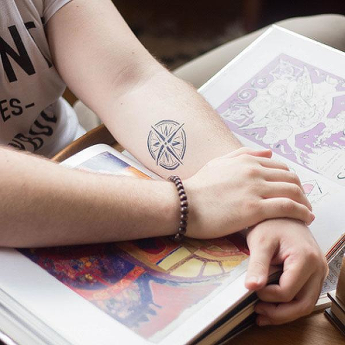0cd675eb7 Dynasty by inkbox is a Travel temporary tattoo from inkbox