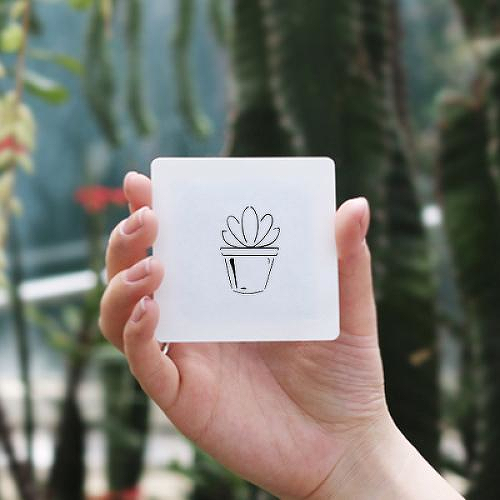 Echeveria by Talia Missaghi is a Nature temporary tattoo from inkbox - 0