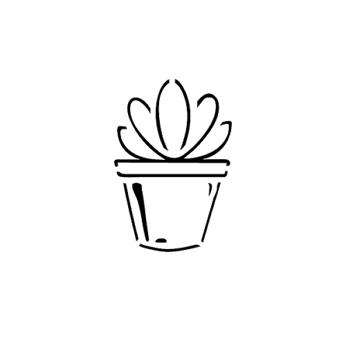 Echeveria by Talia Missaghi is a Nature temporary tattoo from inkbox - 1
