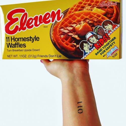 El by inkbox is a Gaming & Fandom temporary tattoo from inkbox - 0