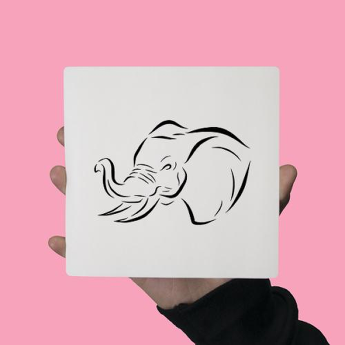 Elephantine by Lina Chambliss is a Animals temporary tattoo from inkbox - 0