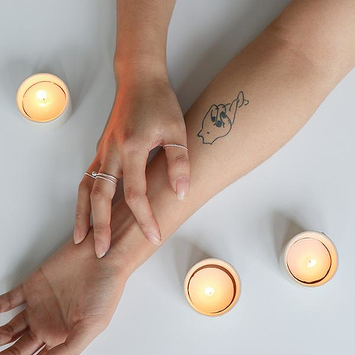 Elpid by Mikie Jae is a Body temporary tattoo from inkbox - 2