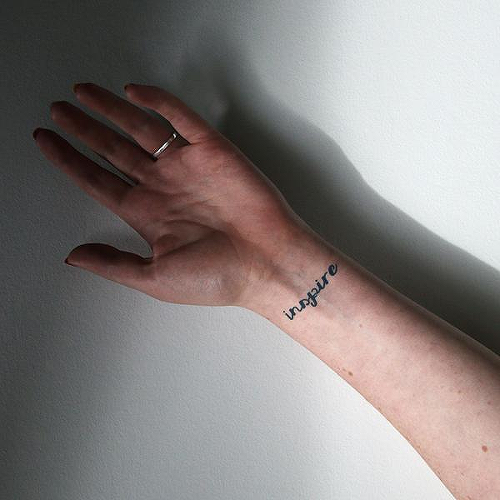 Empneo by Xixi Wang is a Words temporary tattoo from inkbox - 0
