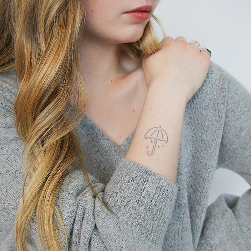 Eniral by Payton Fok is a Nature temporary tattoo from inkbox - 0