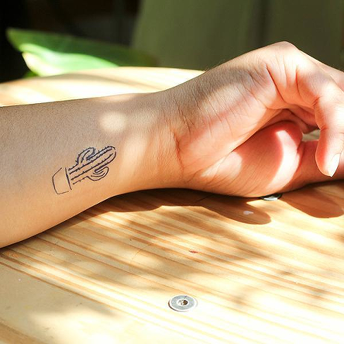 Eschew by Nikki Di Biasio is a Nature temporary tattoo from inkbox - 2