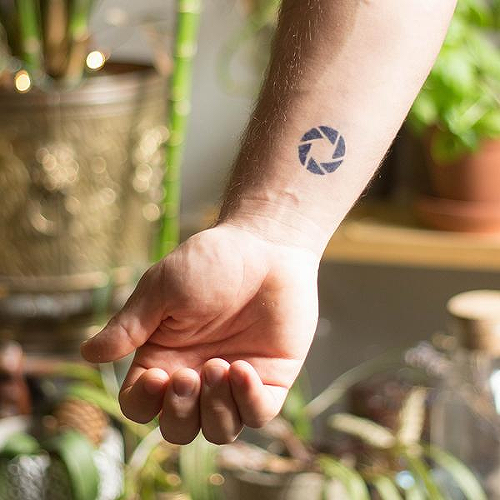 F Stop by inkbox is a Minimal temporary tattoo from inkbox - 0
