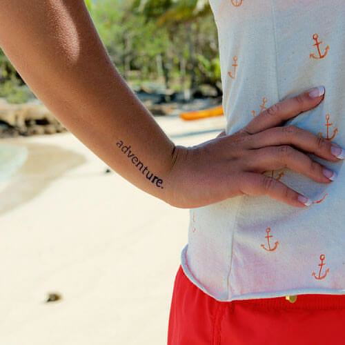 Fabular by inkbox is a Travel temporary tattoo from inkbox - 2