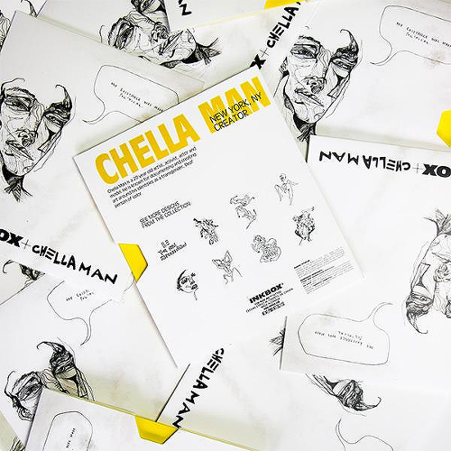 Falling In Love by Chella Man is a Body temporary tattoo from inkbox - 3