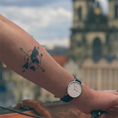 Fernweh by inkbox is a Travel temporary tattoo from inkbox - 0