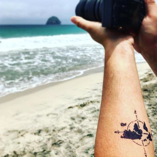Fernweh by Sarah Skrlj is a Travel temporary tattoo from inkbox - 3