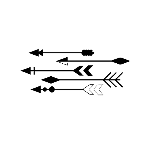 Flechas by Amairani is a Arrows temporary tattoo from inkbox - 1